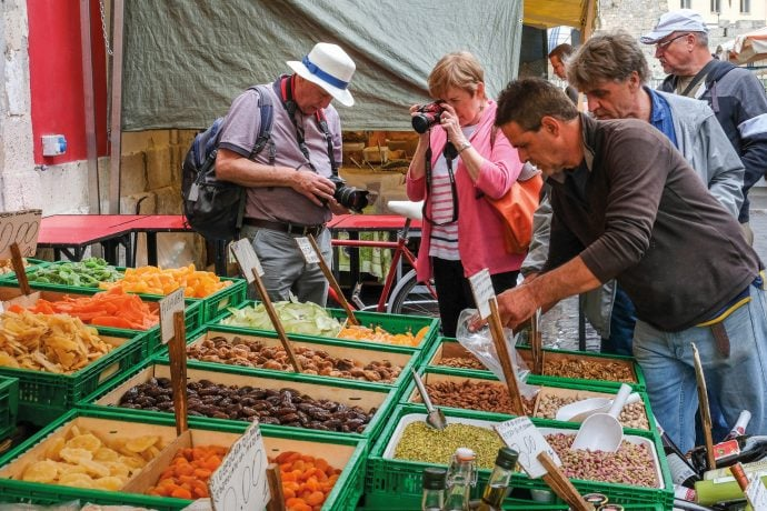 Tuscany Photography Holiday Market Trip