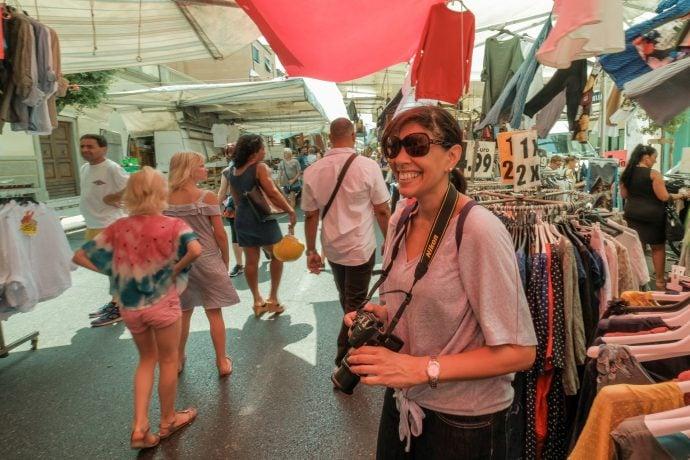 Tuscany Photography Holiday Market Visit