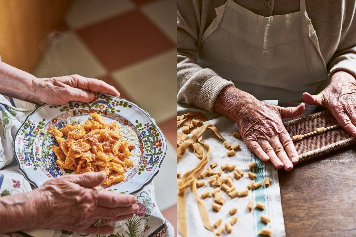 Pasta Grannies Hands