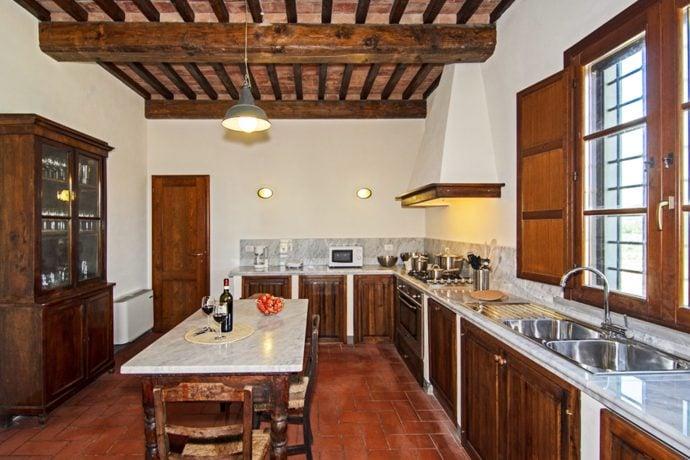 Villa-San-Luigi-Tuscany kitchen