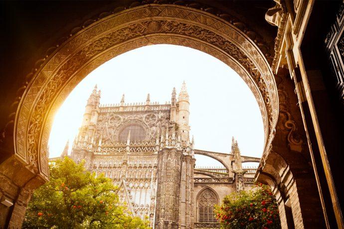 Patio de Naranjas Seville Cathedral