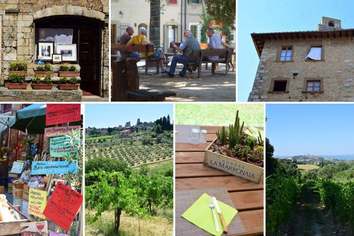 San Gimignano, Bolgheri and Volterra