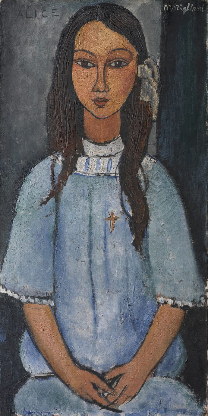 Alice by Amedeo Modigliani