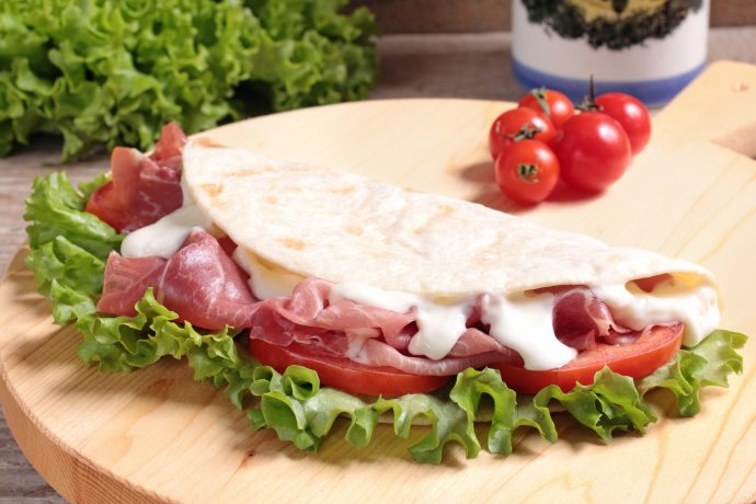 Piadina Romagnola Italian Bread