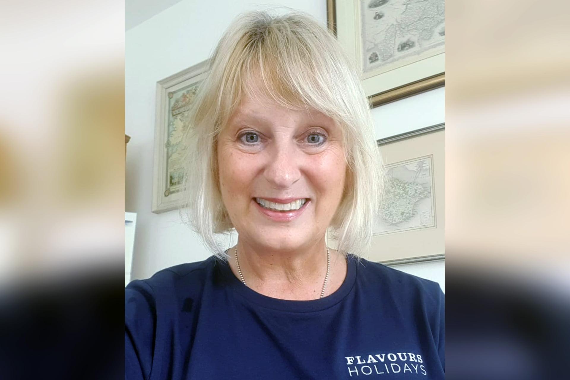 Headshot of Pilates tutor Mandy Parr.