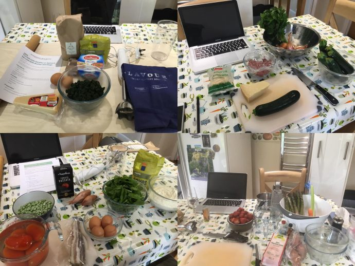 Online Cooking Classes Preparation