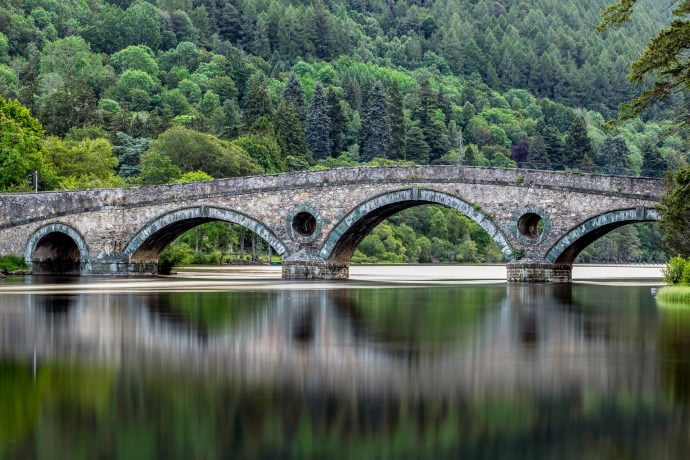 Scottish Highlands Bridge
