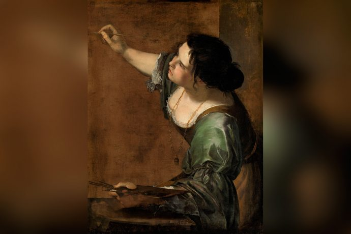 Artemisia Gentileschi Self Portrait Allegory of Painting La Pittura