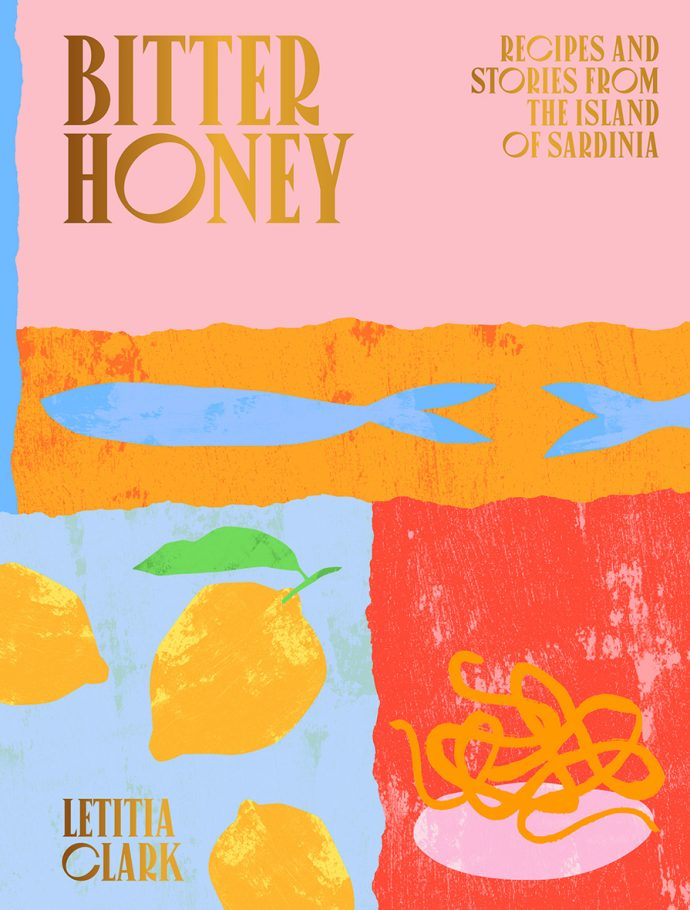 Front cover of Bitter Honey cookbook
