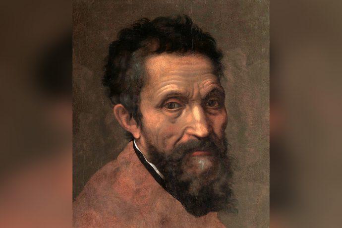 Michelangelo di Lodovico Buonarroti Simoni por Daniele da Volterra