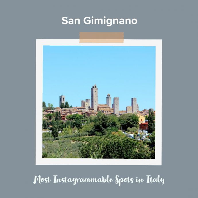 Most Instagrammable Places in Italy - San Gimignano