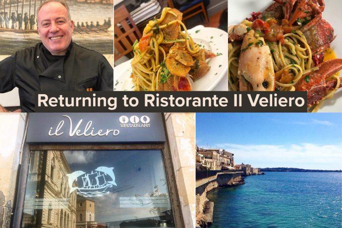 Returning to Ristorante Il Veliero in Syracuse, Sicily