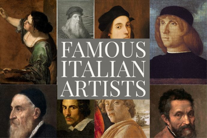 Top 10 Famous Italian Artists and Painters