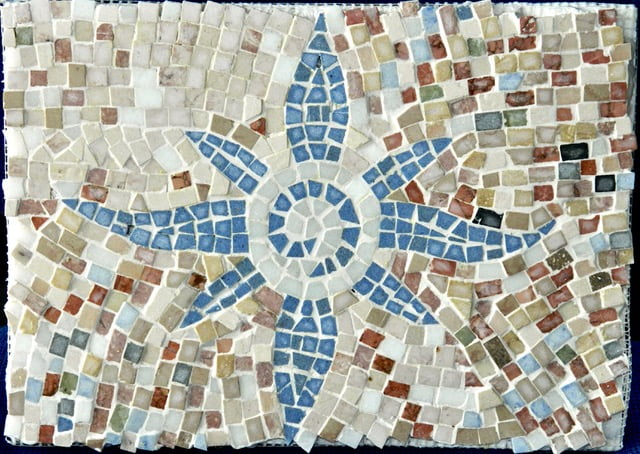 Mosaic created by Donna Armer