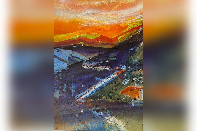 Hugh Tuckerman Painting - Bealach
