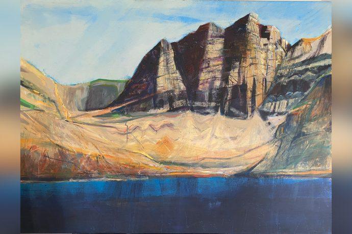 Hugh Tuckerman Painting - Coire Mhic Fhearchair