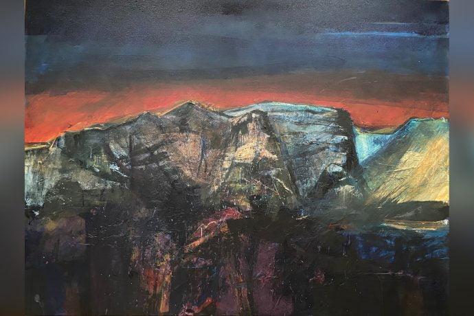 Hugh Tuckerman Painting - Corries Dorcha Beinn Bhann 2