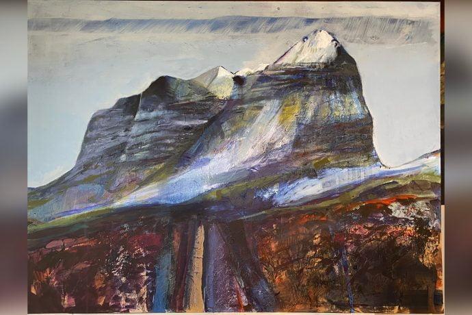 Hugh Tuckerman Painting - Liathach