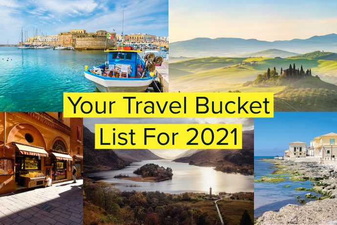 Photos of travel bucket list