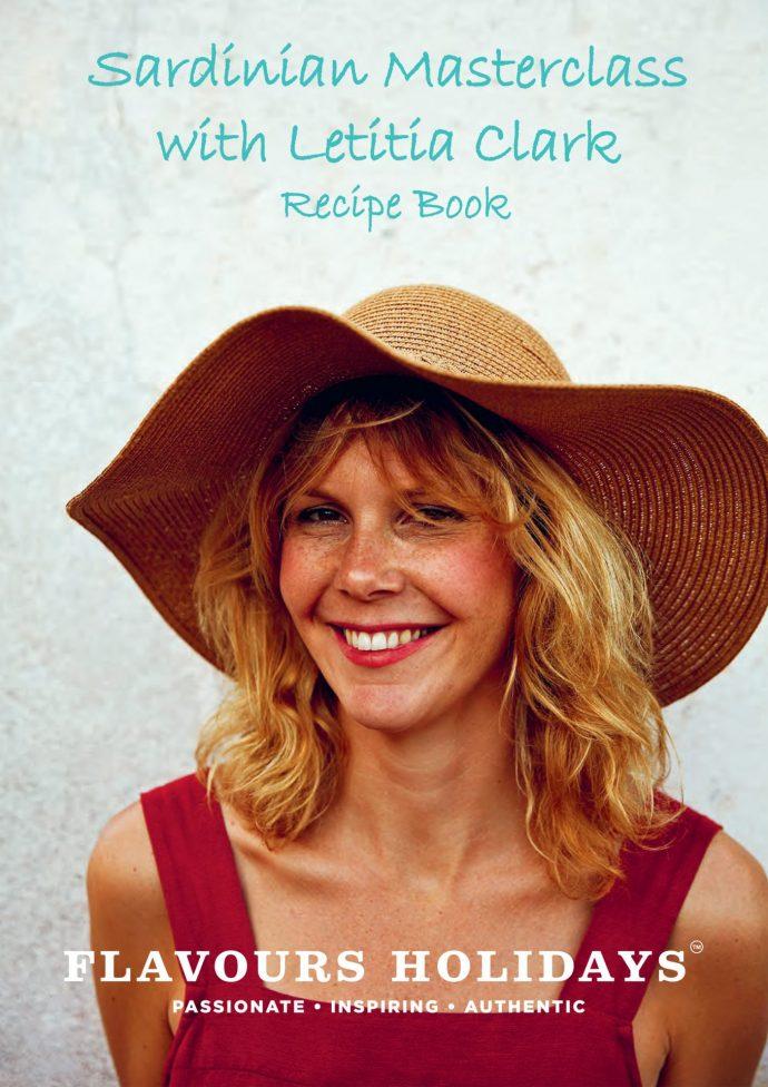 Letitia Clark's Sardinian Masterclass Recipe Book