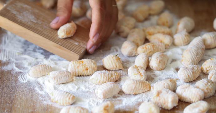 Homemade butternut squash gnocchi recipe