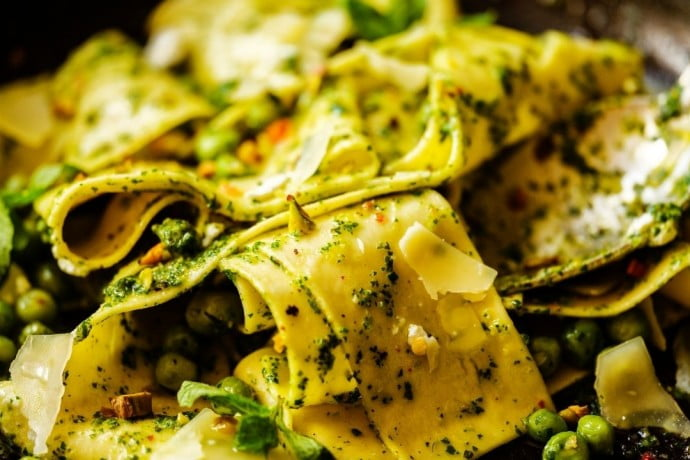 Stuffed Pappardelle
