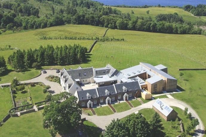 Ardoch house view