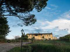Large villa situated in rural area in Tuscany.