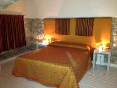 Comfortable bed in our Sicilian villa.