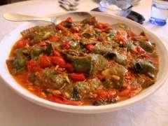 Delicious Italian home made pasta dish with fresh ragu.