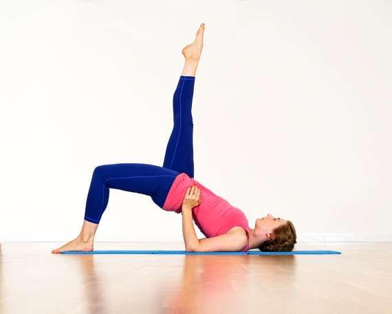 Our Pilates teacher Jyoti Sigouin.