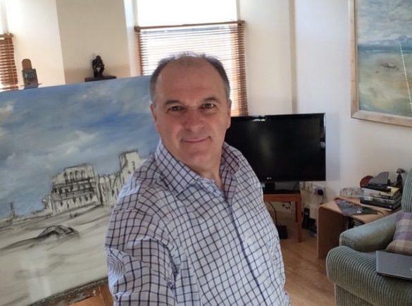Mark Holden Painting Tutor Flavours Holidays Photo