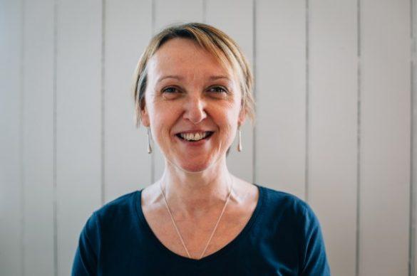 Flavours Pilates teacher, Catherine Crompton.