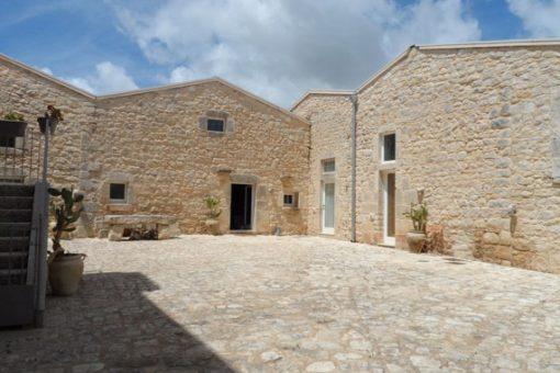 Courtyard in Sicily