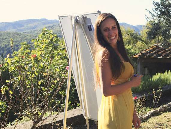 Italian language teacher in Tuscany.