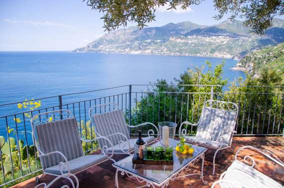 Saracen tower villa in Amalfi