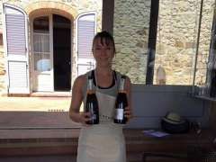 Pilates instructor Vanessa in Tuscany