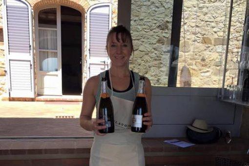 Pilates instructor Vanessa in Tuscany