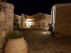 Sicily Villa by Night