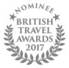 British Travel Awards 2017 Nominee