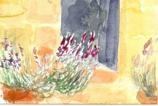 Catherine Sargeant watercolour painting