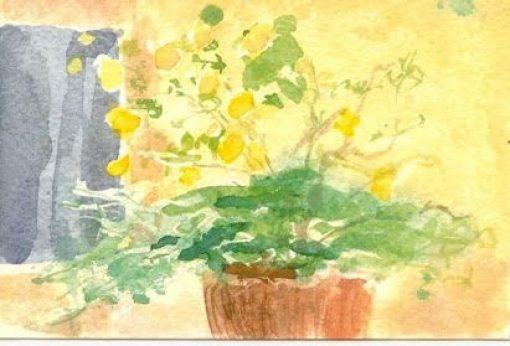 Painting tutor Catherine Sargeant art work